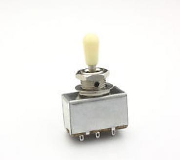3-Wege-Schalter / Toggle Switch mit Rhythm+Treble Scheibe beige ...